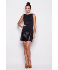 KATRUS Dámské šaty K074 black