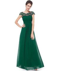 Ever Pretty plesové šaty s krajkou zelené 9993 078567ced8