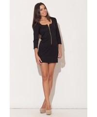 KATRUS Dámské šaty K104 black