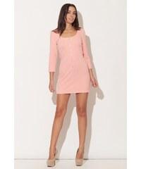 KATRUS Dámské šaty K104 pink