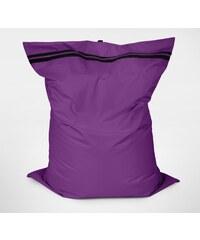 Sedací polštář Oskar s vnitřním vakem fialový polyester