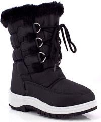 Kimberfeel Dětské zimní boty LINA_NOIR