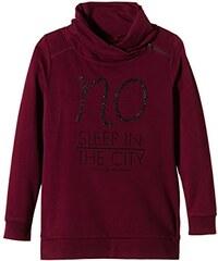 s.Oliver Mädchen Sweatshirt mit hohem Stehkragen, mit Print