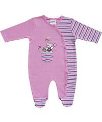 Schnizler Baby - Mädchen Schlafstrampler Interlock Schlafanzug Bärchen