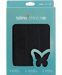 Tolino Falt Tasche aus Kunstleder passend für den Tolino E-Book-Reader Shine 2 HD