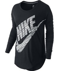 Nike SIGNAL LS TEE černá M