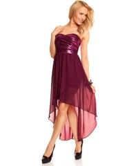Společenské šaty Mayaadi Deluxe - růžovofialové
