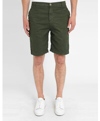 M.STUDIO Grüne Print-Shorts aus Baumwolle Lenny