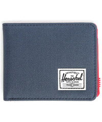 HERSCHEL Portemonnaie mit Kartenetui in Blau und Rot Roy