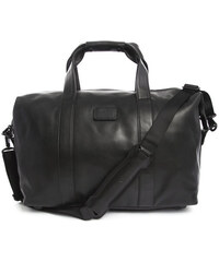 TUMI Weekender aus schwarzem Leder Small Soft Travel Alpha 2 Travel
