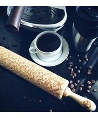 Goody Woody Embosovaný váleček na těsto Coffee