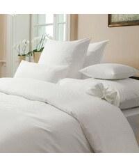 cz Pontus hotelové ložní povlečení 4x4mm mykaná 100% BA v barvě bílé 140x200 / 70x90 (skladem 67ks souprav)