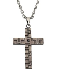 firetti Anhänger mit Zirkonia ohne Kette, »Kreuz«