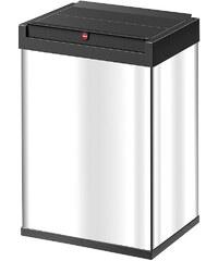 HAILO Großraum-Abfalleimer »Big-Box 40«, edelstahl
