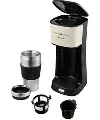 KITCHEN ORIGINALS BY KALORIK TEAM KALORIK 1-Tassen-Thermokaffeeautomat CM 1014 KTO, mit extra großen 420ml Becher,creme /schwarz