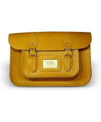 """The Leather Satchel Co. 12,5"""" kožená brašna Leather Satchel Autumn Tan"""
