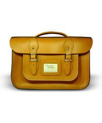 """The Leather Satchel Co. 12,5"""" kožená aktovka Leather Satchel Autumn Tan"""