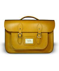 """The Leather Satchel Co. 16,5"""" kožená aktovka Leather Satchel Autumn Tan"""