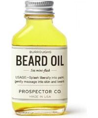 Olej na vousy BURROUGHS BEARD OIL 30ml od Prospector Co.