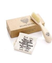 Kartáč na vousy a knír z bukového dřeva od Kent