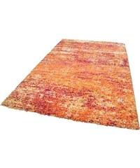THEKO Hochflor-Teppich Color Shaggy 521 Höhe 35 mm handgewebt orange 1 (B/L: 57x90 cm),2 (B/L: 67x120 cm),3 (B/L: 133x190 cm),6 (B/L: 200x285 cm),7 (B/L: 240x340 cm)