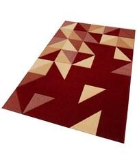 Teppich gewebt aus reiner Neuseelandwolle OTTO KERN rot 1 (B/L: 60x110 cm),2 (B/L: 80x150 cm),3 (B/L: 120x170 cm),4 (B/L: 160x230 cm),6 (B/L: 200x300 cm)