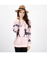 Lesara Sweatshirt mit Rentier-Print - L – 42