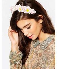 ASOS - Vintage-Haarband mit Rosen- und Gänseblümchendesign - Mehrfarbig