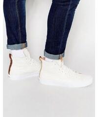 Vans California - Sk8-Hi Decon - Baskets montantes en cuir - Blanc