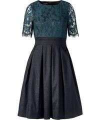 Luxusní krajkové šaty APART (vel.36 skladem) 36 smaragdová Dopravné zdarma!