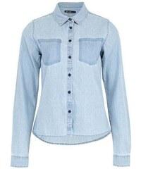 košile BLEND SHE - Adel Patch Shirt Bleached Lg. Blue (29029)