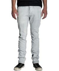 kalhoty KREW - K Slim White Static (WBK)