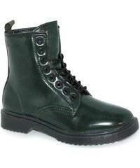 Carolina Boix Boots 40250t - botine MILITAR vert