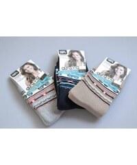 Aura Via Dámské termo ponožky světle modré vel. 35-38