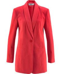 bpc bonprix collection Blazer long rouge manches longues femme - bonprix