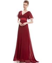 Ever Pretty plesové šaty bordo 9890 5fd7d7c5a6