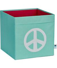 STORE !T Úložný box Peace, 33x33x33 cm - mátový