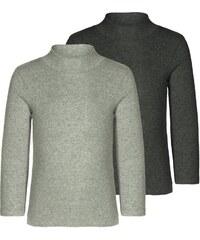 Minimize 2 PACK Langarmshirt medium grey melange