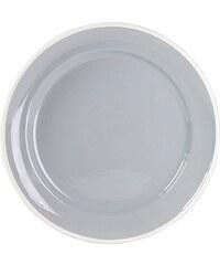 MARIEKE - Talíř šedá keramika, průměr 26,5 cm (50001028)