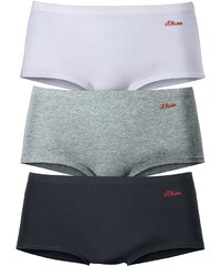 S.Oliver RED LABEL Baumwoll Panty 3 Stck.