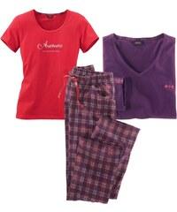 H.I.S JEANS Dreiteiliges Pyjamaset