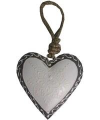 Dekorativní srdce Light Heart, 7 cm
