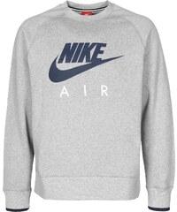 Nike Air Aw77 Heritage Fleece Sweater grey/obsidian