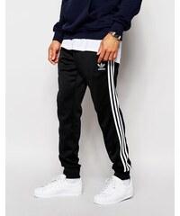 Adidas Originals - Superstar AJ6960 - Pantalon de survêtement resserré aux chevilles - Noir