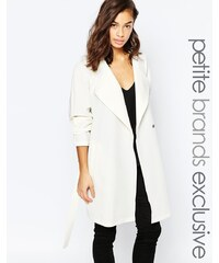Noisy May Petite - Trench-coat - Blanc