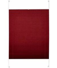 Plissee-Faltenstore Easyfix Plissee im Festmaß ohne Bohren Lichtschutz (1 Stck.) Gardinia rot 1 (B/H: 50/130 cm),2 (B/H: 60/130 cm),3 (B/H: 70/130 cm),4 (B/H: 80/130 cm),5 (B/H: 90/130 cm),6 (B/H: 100