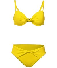 Softcup-Bikini Heine gelb 34,36,38,40,42,44