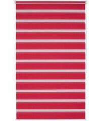 K-HOME Doppelrollo Ancona im Fixmaß ohne Bohren Lichtschutz (1 Stck.) rot 1 (H/B: 150/40 cm),10 (H/B: 200/70 cm),2 (H/B: 150/50 cm),3 (H/B: 150/60 cm),4 (H/B: 150/70 cm),5 (H/B: 150/80 cm),6 (H/B: 150