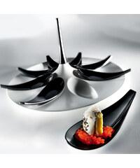 Gio'Style Servírovací set na jednohubky Entity White/Black
