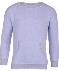 Miss Fiori Pocket Crew Sweater dětské Girls Purple